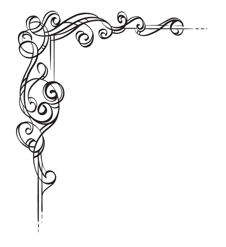 Boarder clipart scrollwork. Tangled page borders design
