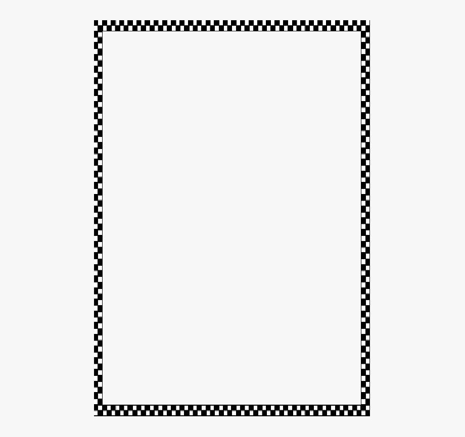 Boarder clipart simple. Border black png free