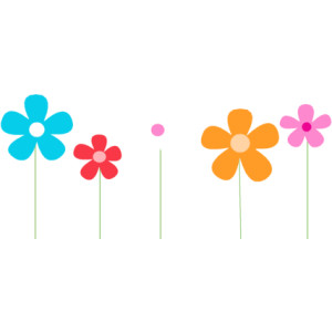 Border clipart spring. Flowers panda free images