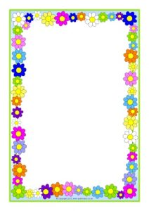 Border clipart spring. Borders for word incep