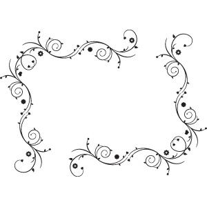 Boarder clipart swirl. Spiral borders