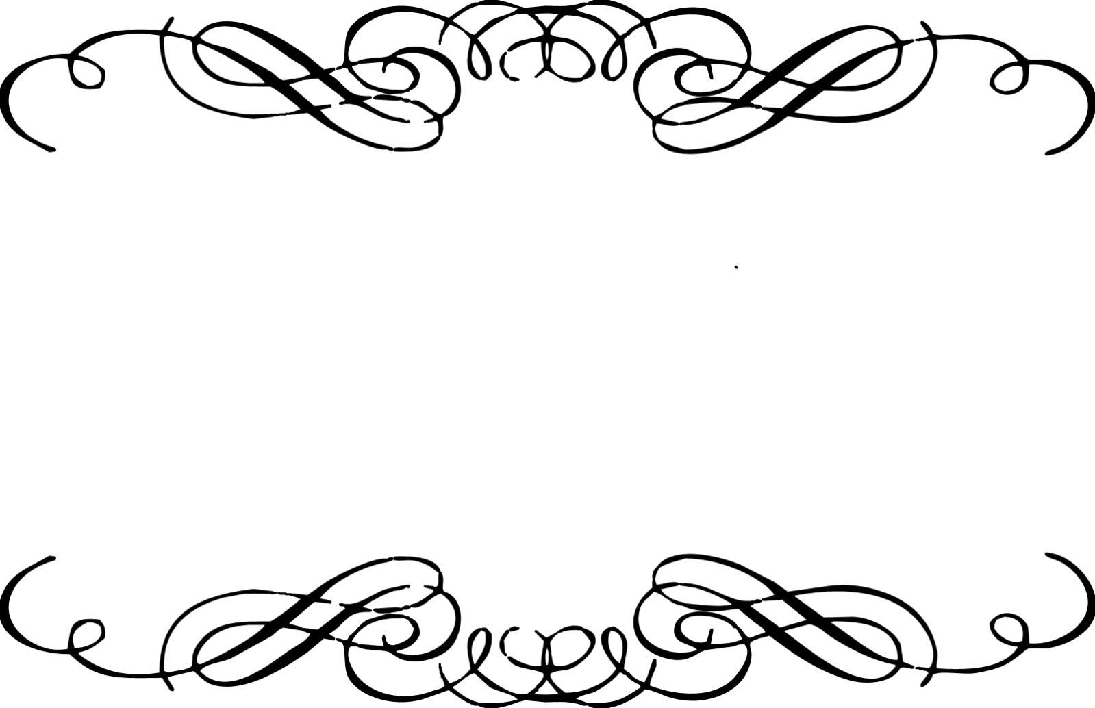 Border clipart fancy. Free swirl download clip