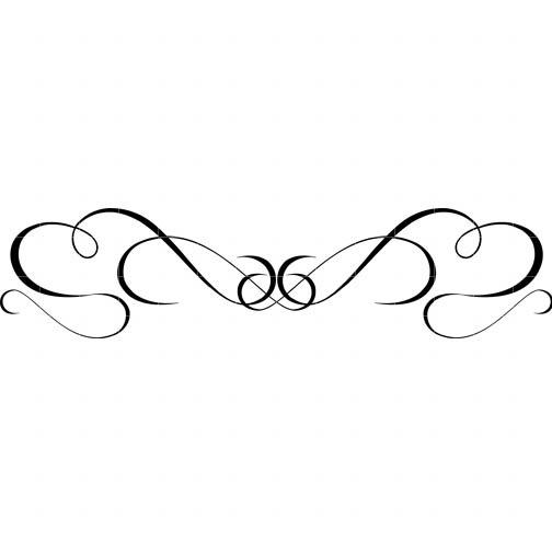 Border black and white. Boarder clipart swirl