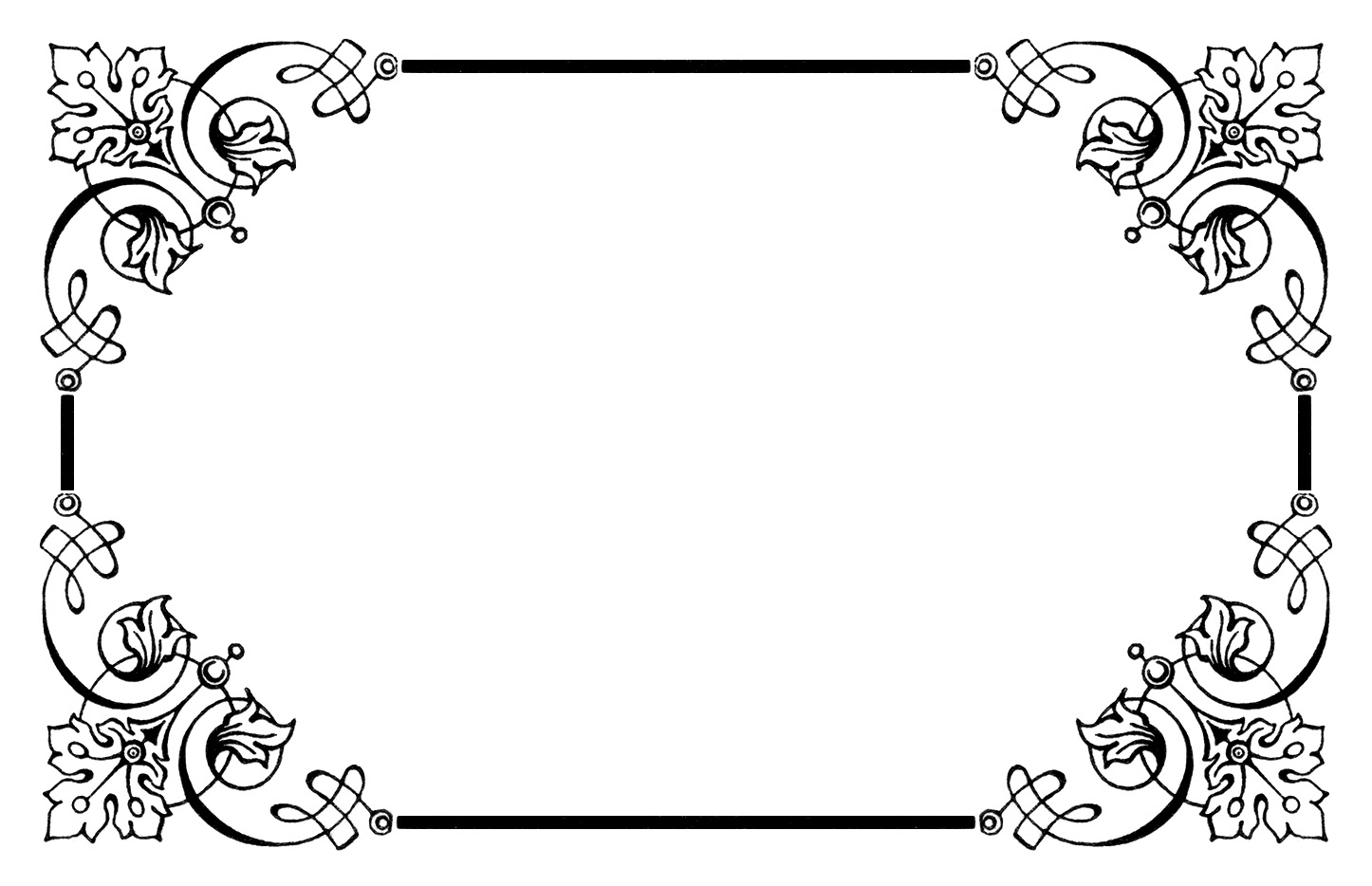 Boarder clipart vintage. Borders panda free images