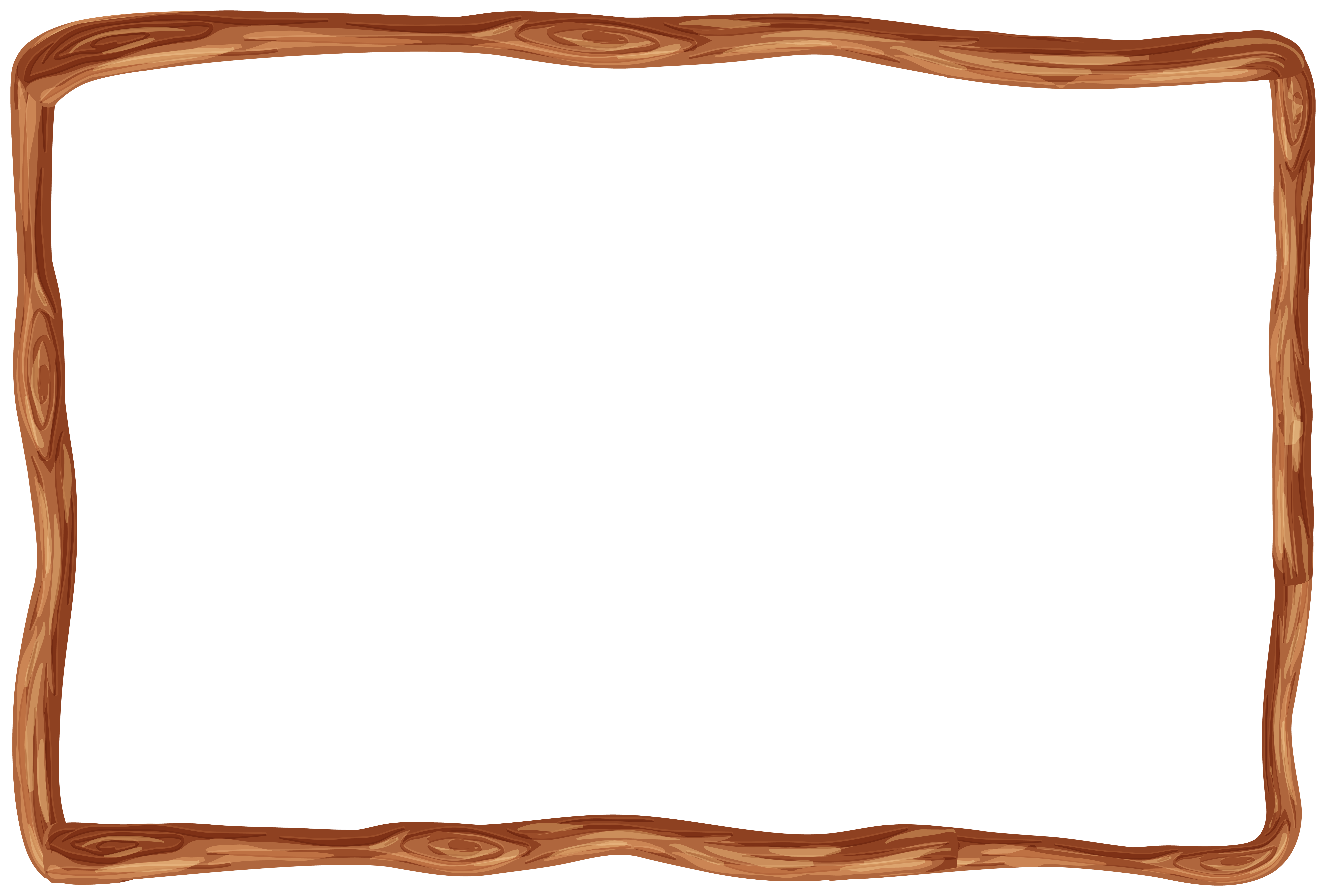 Boarder clipart wood. Wooden frame border png