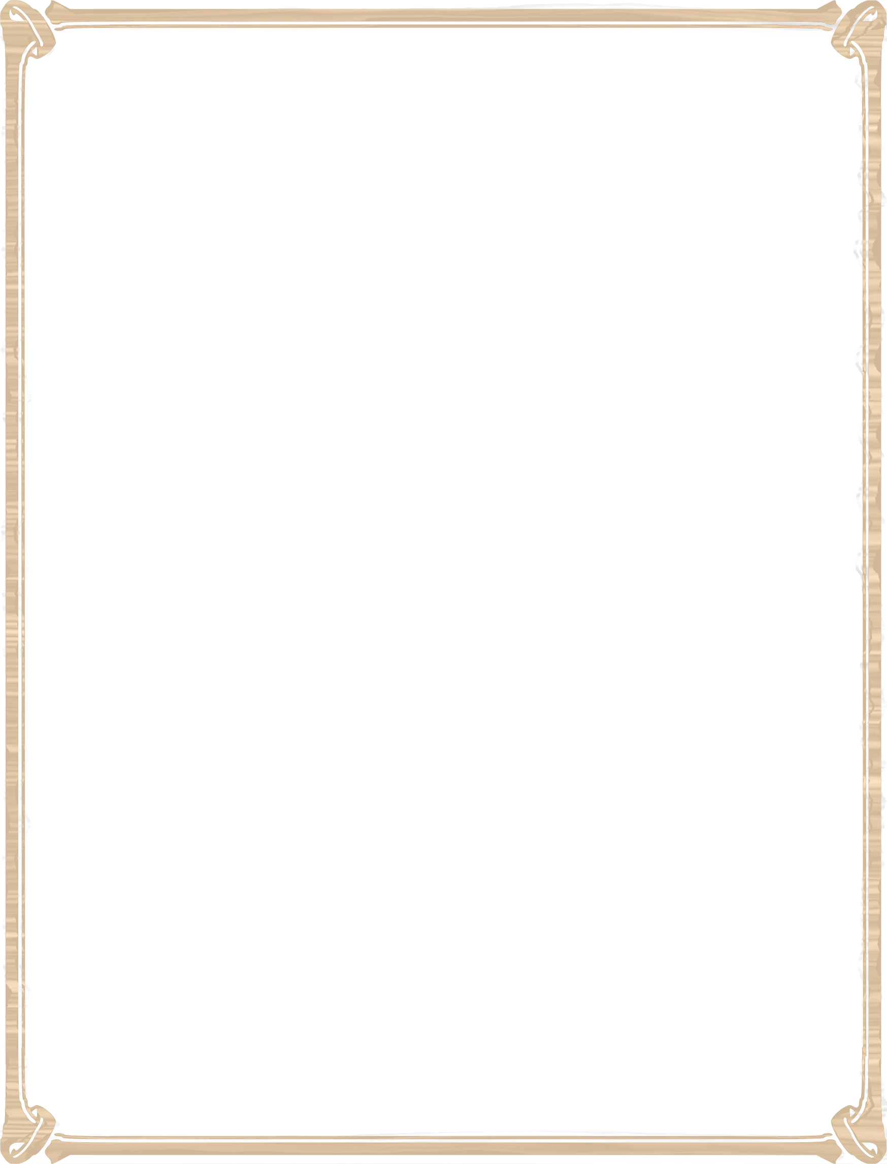 Wood border png. Clipart big image