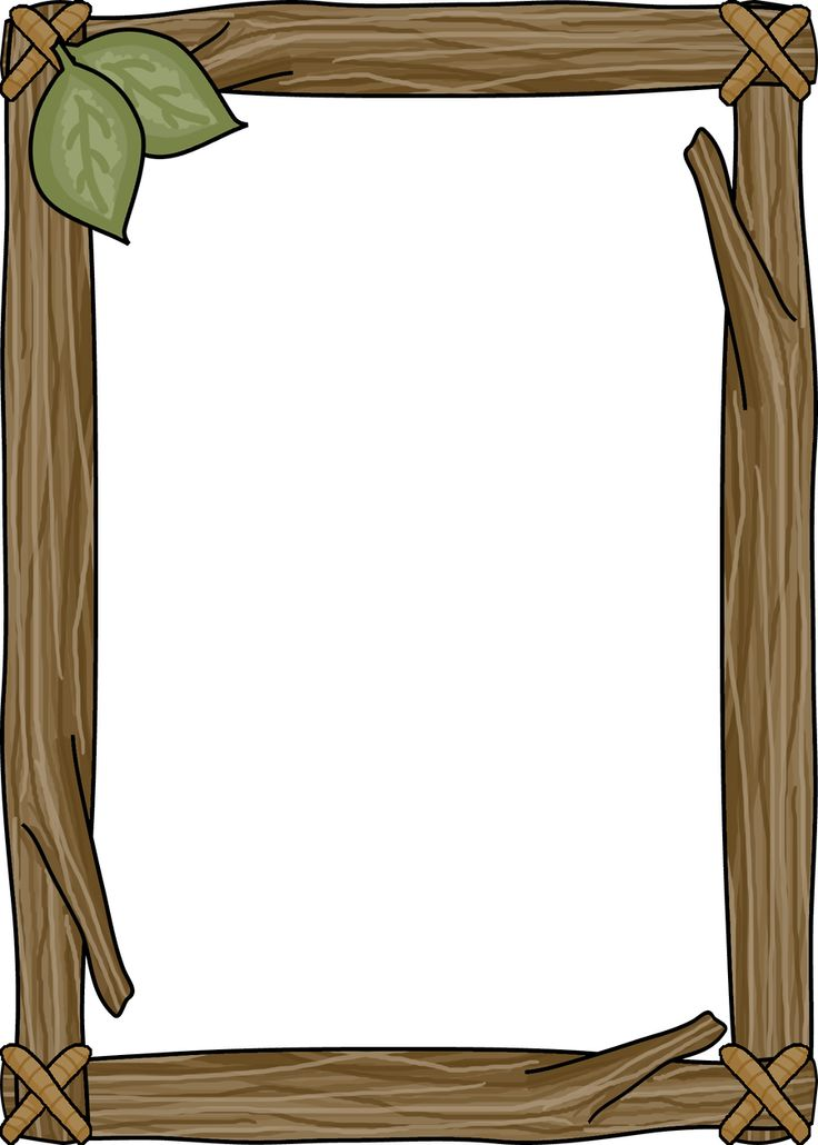 Boarder clipart wood.  best bordas images