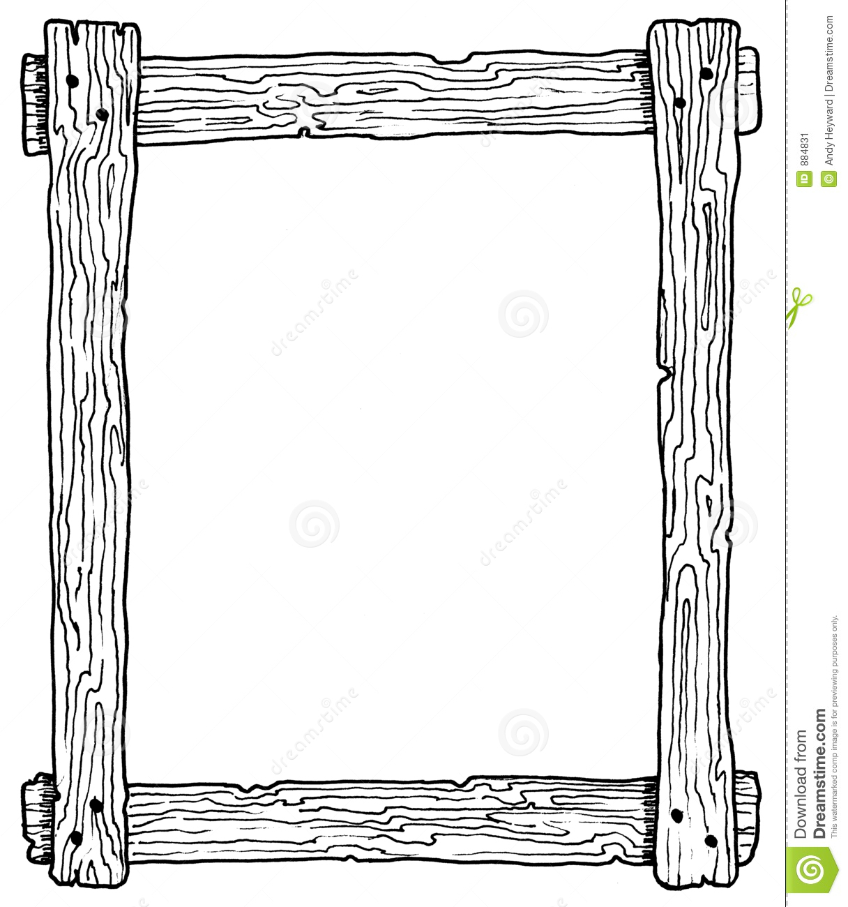 Border . Boarder clipart wood