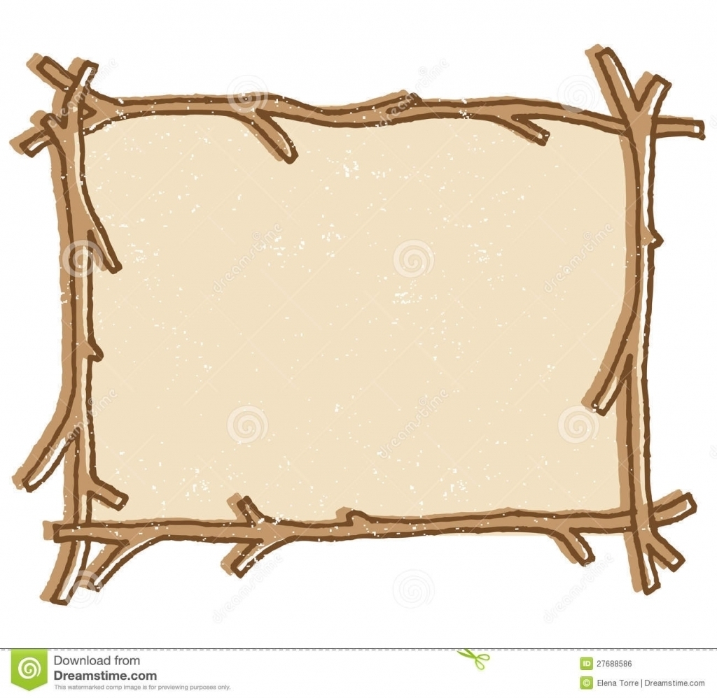 Boarder clipart wood. Free twig or branch