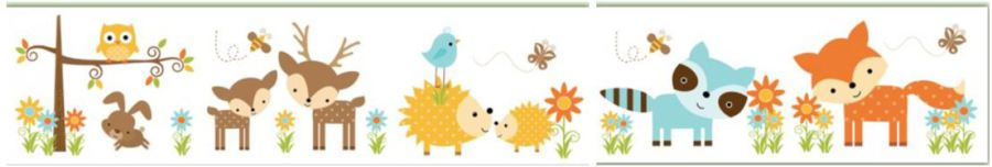 Animal border carol s. Boarder clipart woodland