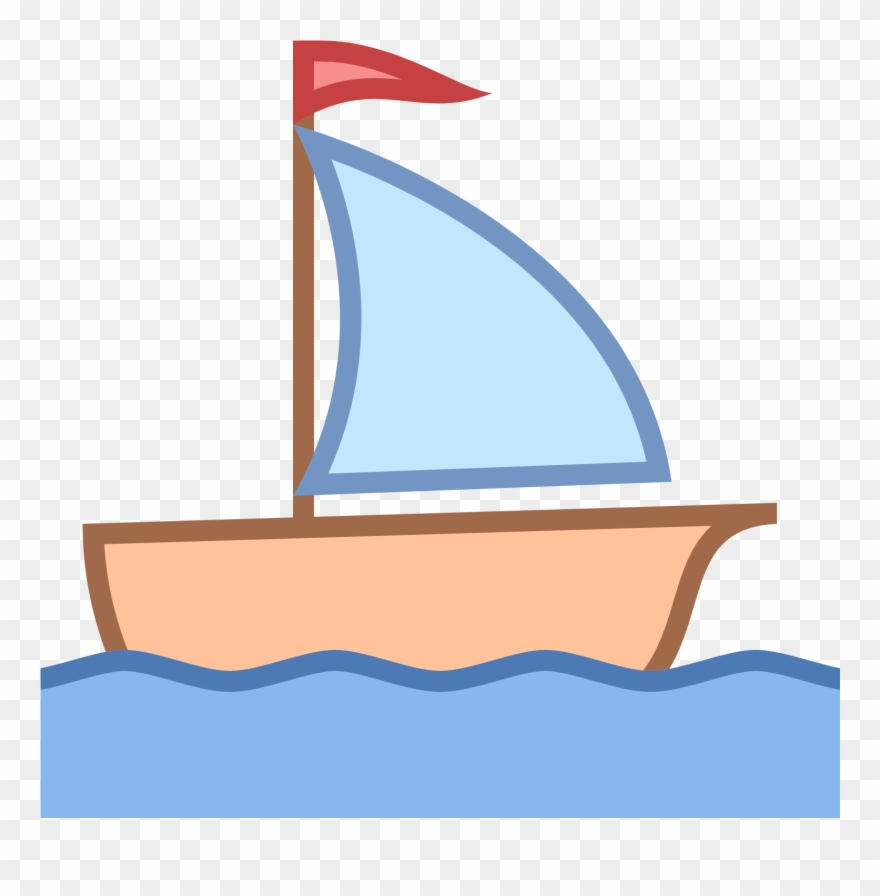Boats clipart sailing boat. Little png