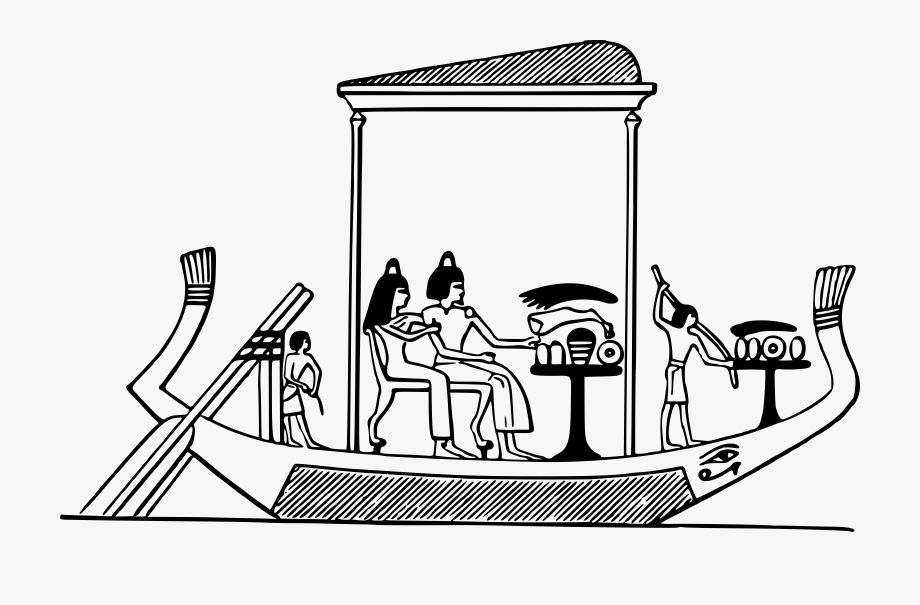 Boat . Boats clipart ancient egyptian