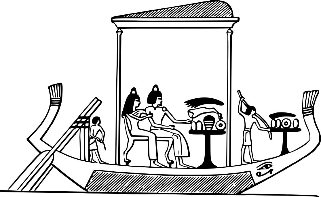 Boat clipart ancient egyptian. Design droide