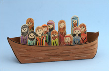 Crafts for sunday school. Boat clipart bible