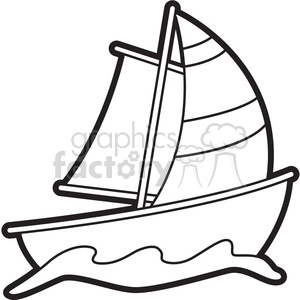 Royalty free images graphics. Boat clipart black and white