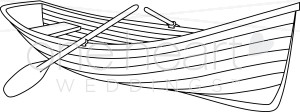Row boat nautical wedding. Boats clipart black and white