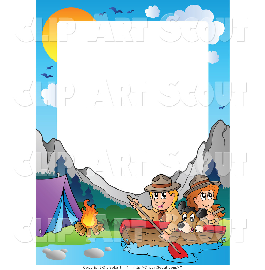 Boating clipart kid design. Of a scouts by