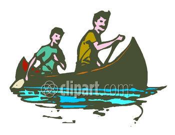Canoe clipart boating. Boatclipart com image