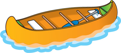 Boats clipart water transport. Canoe free