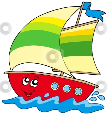 . Boats clipart cartoon