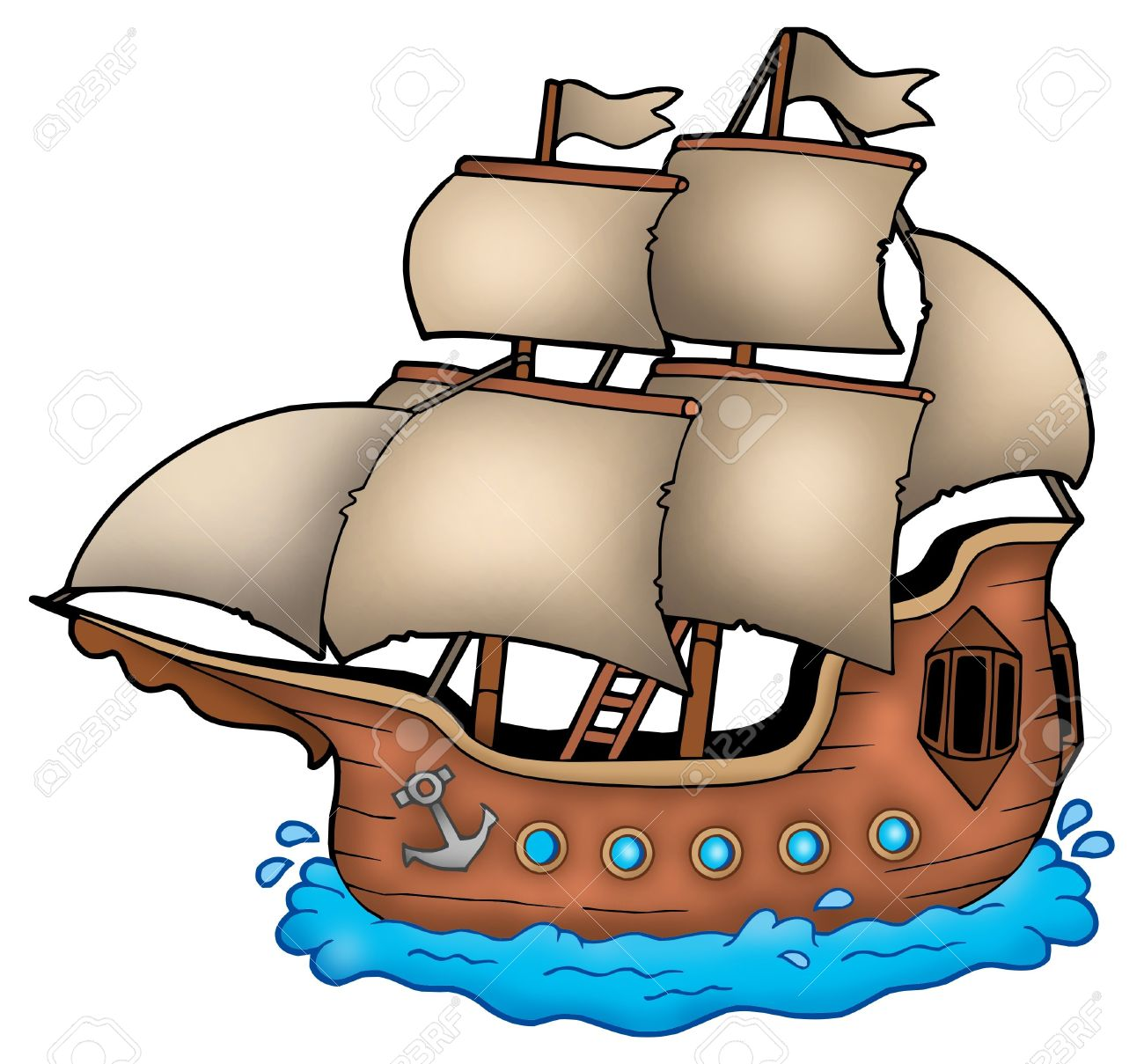 Sailboat free download best. Boat clipart cartoon