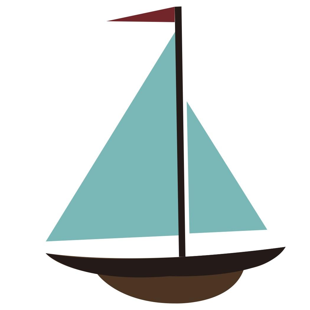 Boat clipart cartoon. Sailboat clip art clipartix