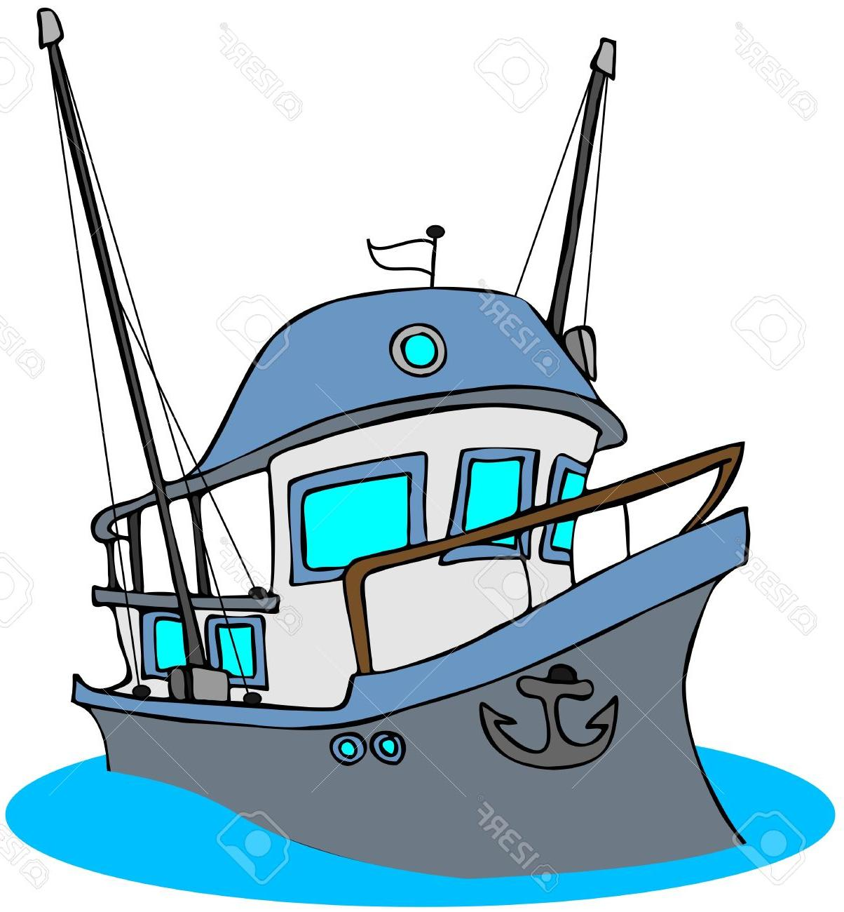Boats clipart fishing vessel. Top boat cartoon cdr