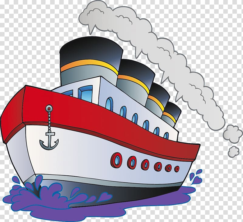 Boat ship transparent background. Boats clipart cartoon