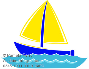 Clip art image of. Boating clipart watercraft