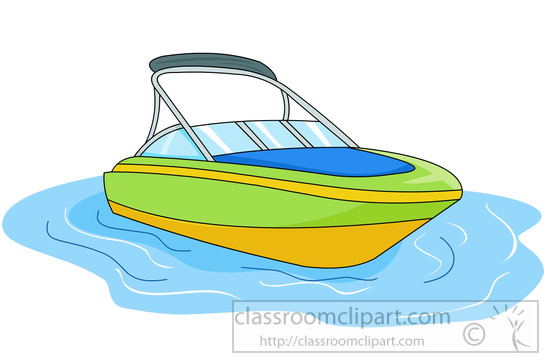 Boats clipart speed boat. And ships in water