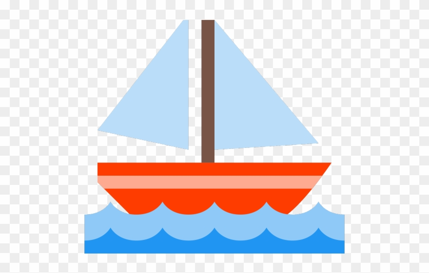 Sailing ship transparent png. Boat clipart clear background
