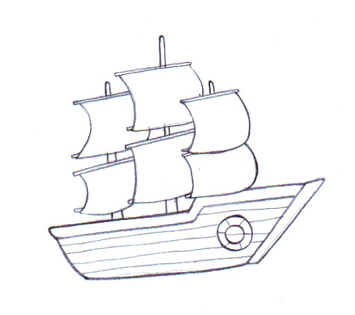 Simple drawing at getdrawings. Boat clipart easy
