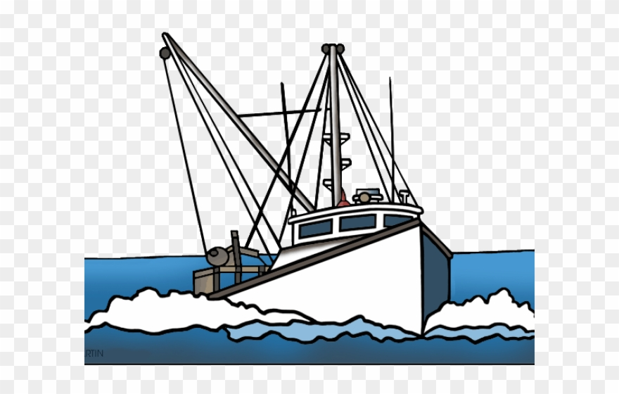 Boat clipart fishing boat. Ship trawler png