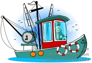 Boat clipart fishing boat. Stock photography acclaim images