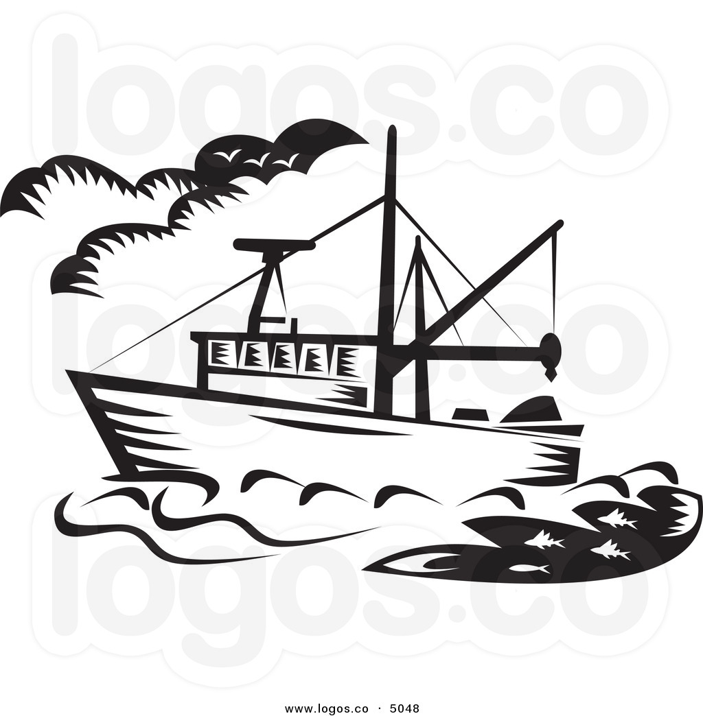 boating clipart fishing boat