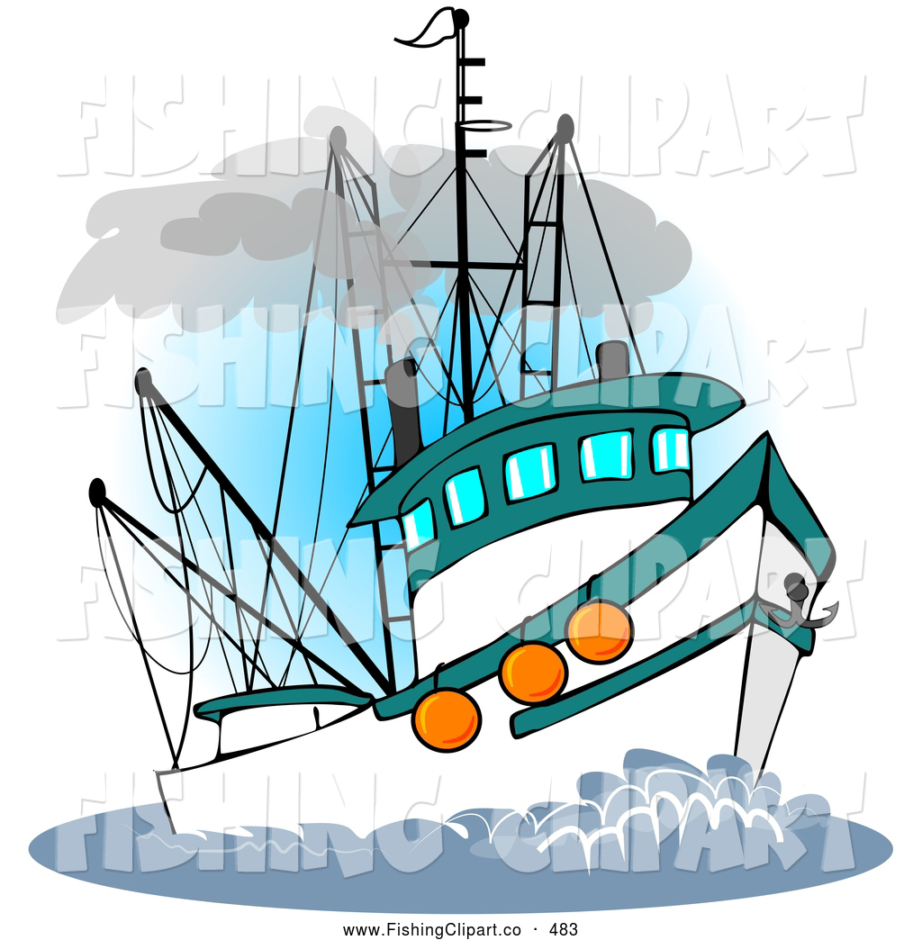 boat clip art. Boats clipart fishing vessel