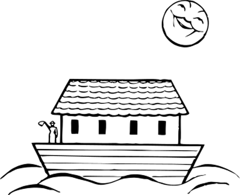 . Boat clipart house boat