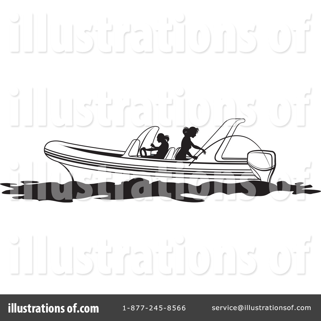 Boat clipart illustration. By lal perera royaltyfree