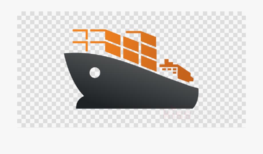Cargo ship san jose. Boat clipart logo