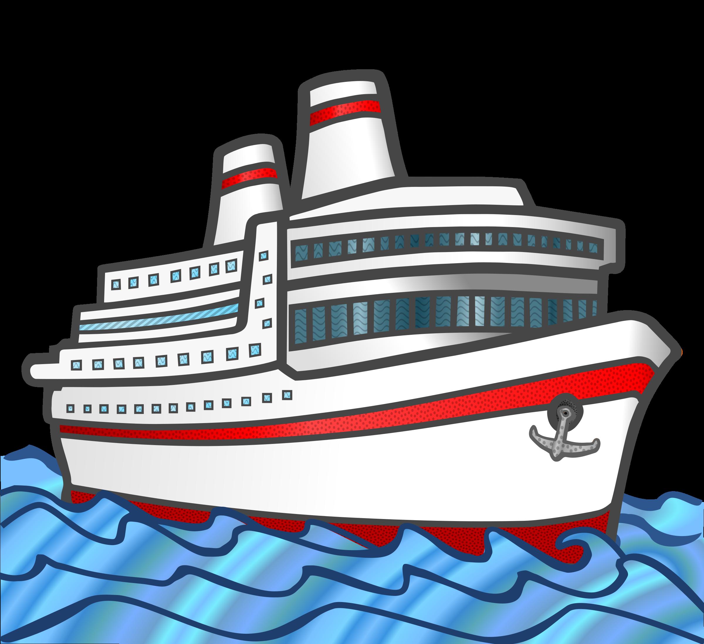 Cruise ship marine free. Boat clipart logo