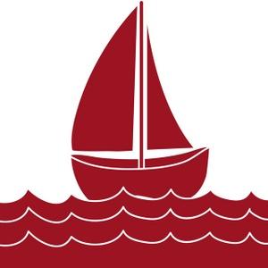 Boat clipart logo. Free sailboat clip art