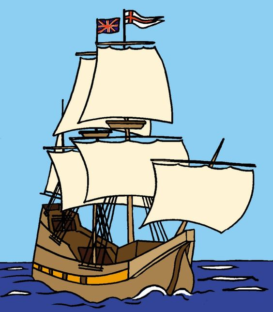Pilgrim clipart mayflower ship. Free silhouttee cliparts download