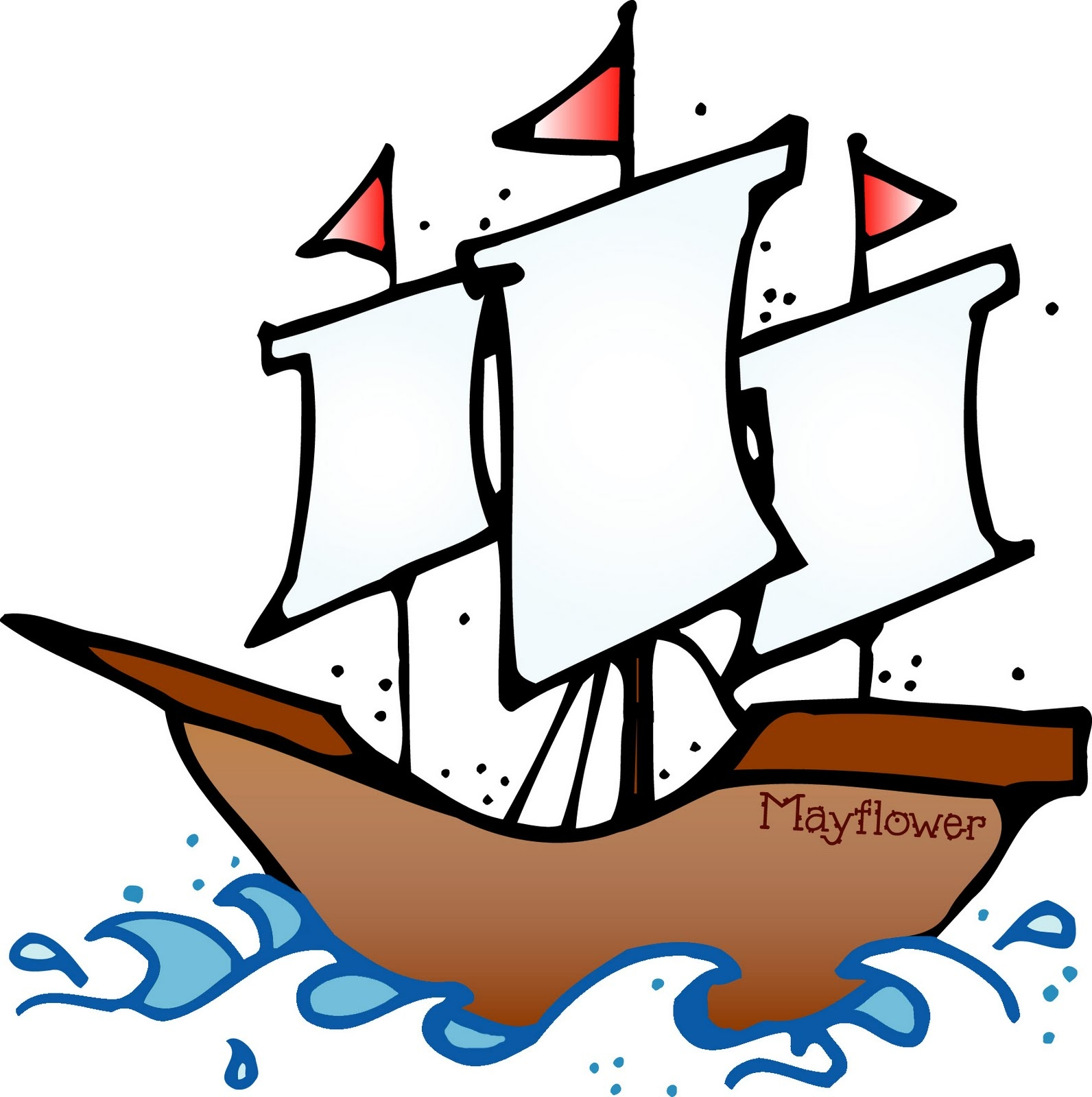 New gallery digital collection. Boat clipart mayflower