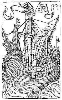 Woodcuts collection pictuers with. Boat clipart medieval