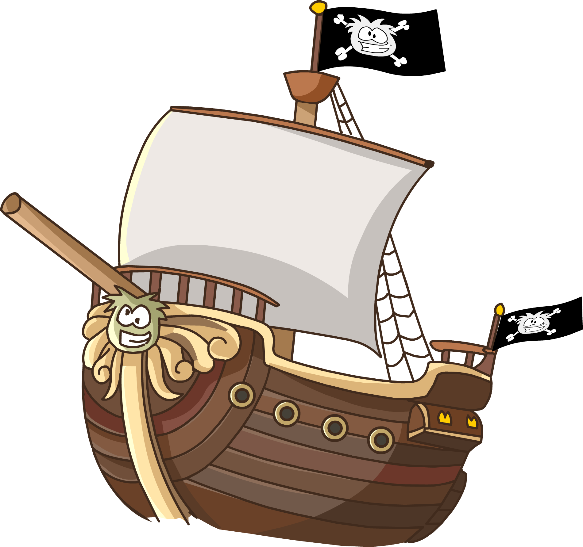 Image migrator in medieval. Square clipart animated