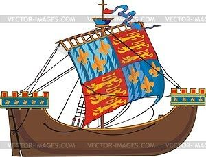 Ship vector ships pinterest. Boats clipart medieval
