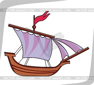 Boat pencil and in. Boats clipart medieval