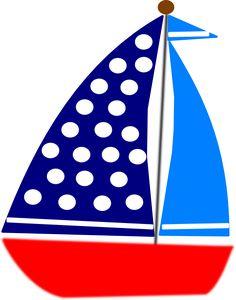 Marinheiro minus cute image. Boat clipart nautical
