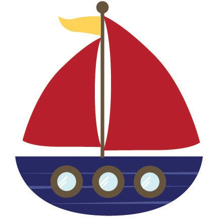Boat clipart nautical. Professional cute for digital