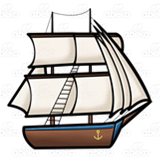 Boat clipart old fashioned. Ship